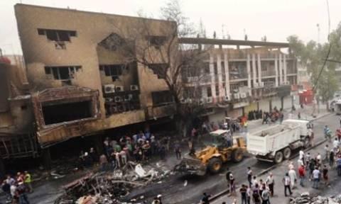 Ιράκ: Τουλάχιστον 48 νεκροί, δεκάδες τραυματίες σε βομβιστική επίθεση του Ισλαμικού Κράτους