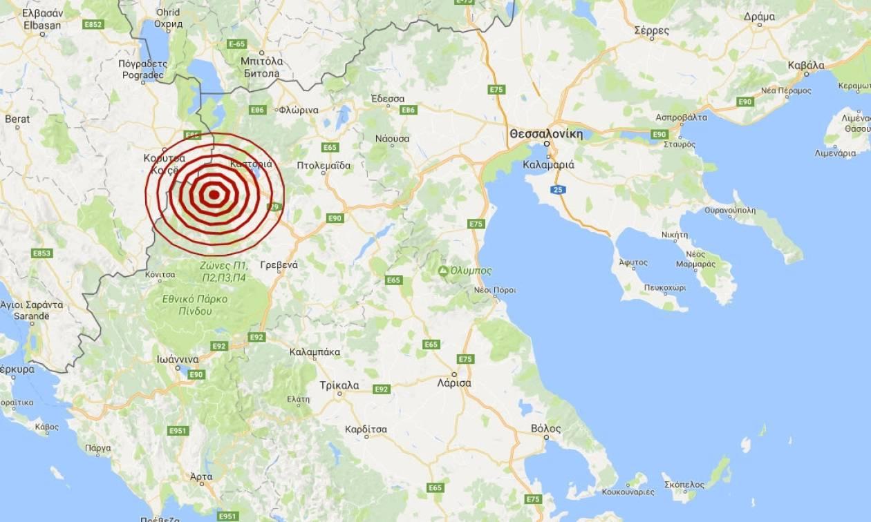 Σεισμός κοντά στην Καστοριά (pics)