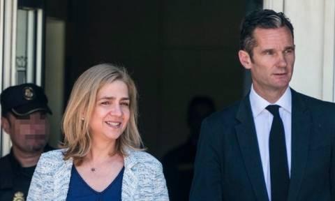 Ισπανία: Αθώα η πριγκίπισσα Χριστίνα - Έξι χρόνια φυλακή στον σύζυγό της