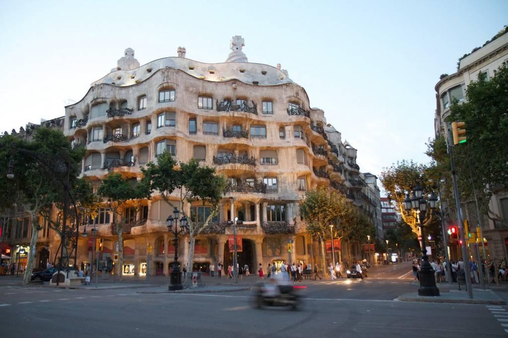 Casa Mila στη Βαρκελώνη, Ισπανία