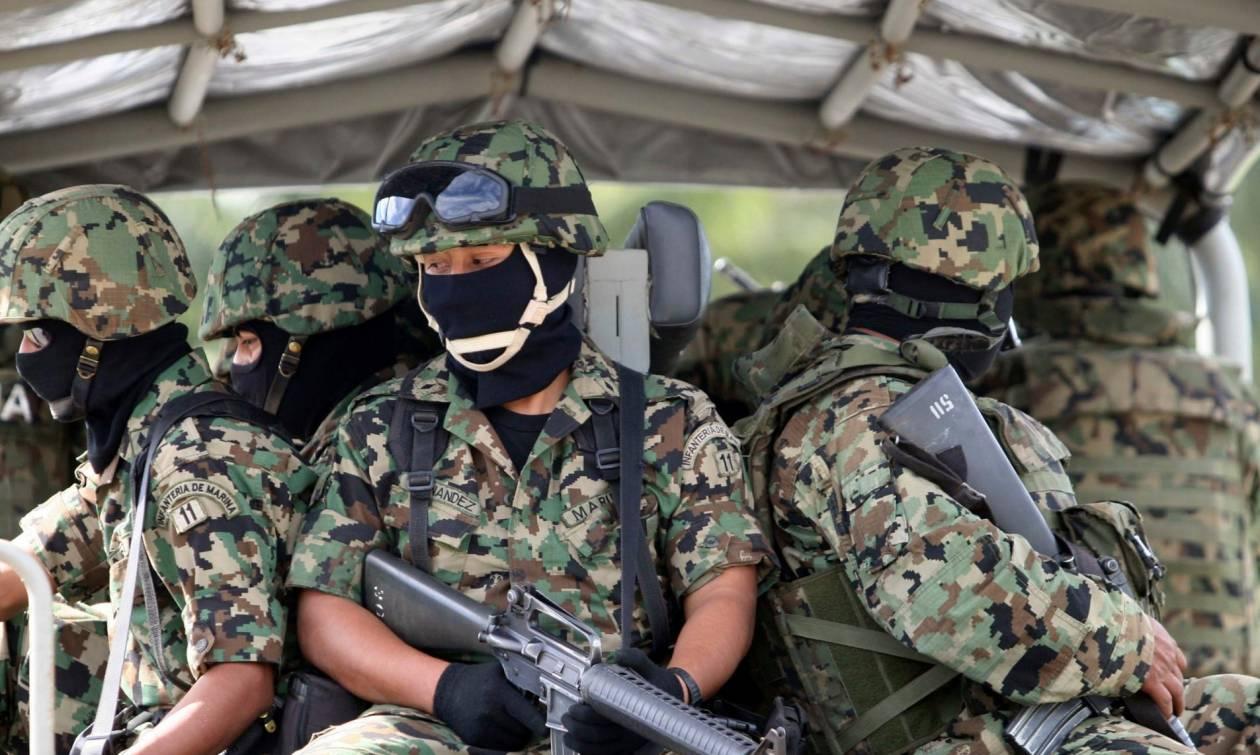 Μεξικό: Οκτώ νεκροί από συμπλοκή πεζοναυτών με μέλη συμμορίας