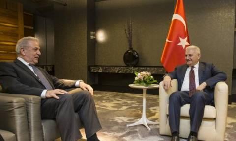 Τουρκία: Συνάντηση Αβραμόπουλου με Γιλντιρίμ