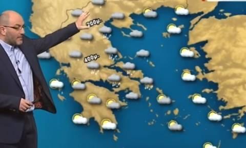 Το μήνυμα του Σάκη Αρναούτογλου για τον καιρό και το χιονισμένο Μέτσοβο (photo)