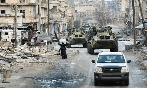 Τέσσερις Ρώσοι στρατιώτες σκοτώθηκαν από έκρηξη νάρκης στη Συρία