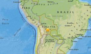 Ισχυρός σεισμός συγκλονίζει τη Βολιβία
