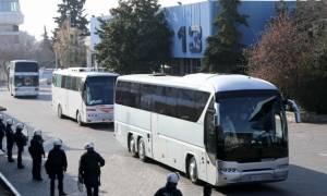 Θεσσαλονίκη: Μυστήριο με 45χρονο που προσπάθησε να ρίξει πούλμαν με οπαδούς πάνω σε αστυνομικούς!