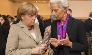 Меркель и Лагард обсудят вопрос греческого долга