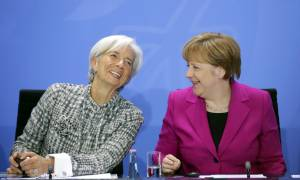 Μέρκελ – Λαγκάρντ: Μεταρρυθμίσεις τώρα, ελάφρυνση χρέους από το 2018 και βλέπουμε…