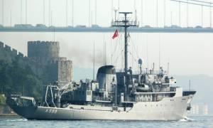 Πολεμικά παιχνίδια του Ερντογάν: Το Τσεσμέ «αλωνίζει» στο Αιγαίο - Δείτε το χάρτη με την πορεία του