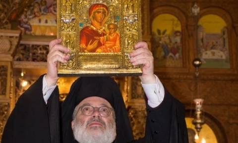 Η εικόνα της Παναγίας Σουμελά στο Βέρμιο