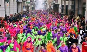 ΔΕΙΤΕ LΙVE: Η Μεγάλη παρέλαση του Πατρινού Καρναβαλίου 2017