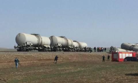 Τουρκία: Εκτροχιασμός τρένου έπειτα από ισχυρή έκρηξη στο Ντιγιάρμπακιρ (pics+vid)