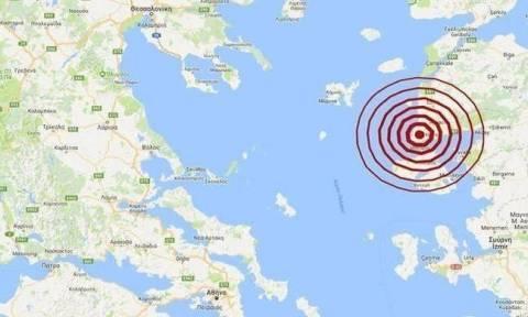 Σεισμός κοντά στη Μυτιλήνη (pics)