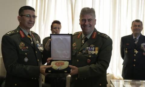 O ταξίαρχος Αναστάσιος Γκούμας ανέλαβε την διοίκηση του Πεδίου Βολής Κρήτης (ΠΒΚ)