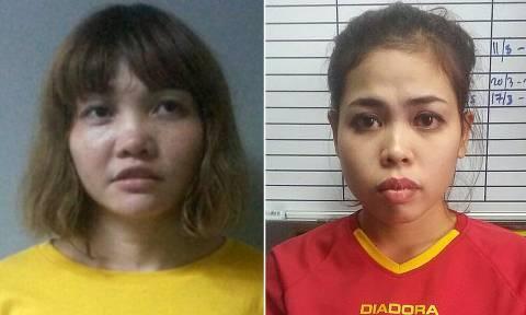 Δολοφονία Κιμ Γιονγκ Ναμ: Αντιμέτωπες με τη θανατική ποινή οι δύο γυναίκες
