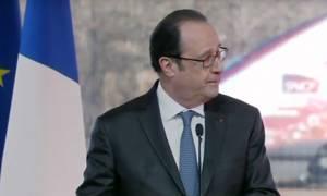 Γαλλία: Πανικός σε ομιλία του Ολάντ - Αστυνομικός άνοιξε πυρ (vid)