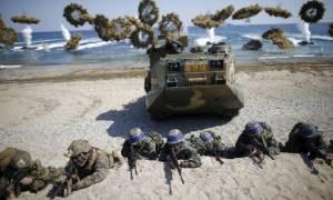 ΗΠΑ και Νότια Κορέα προετοιμάζονται για πόλεμο με τη Βόρεια Κορέα (Vids)