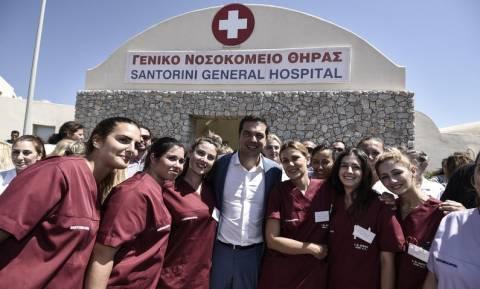 ΠΟΕΔΗΝ: Σε ελεύθερη πτώση το νοσοκομείο Σαντορίνης