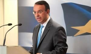 Σταϊκούρας: Η κυβέρνηση επεκτείνει τη λιτότητα - Ευτυχώς δεν πανηγυρίζει ο Τσακαλώτος