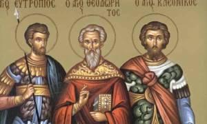 3 Μαρτίου: Ποιοι γιορτάζουν σήμερα