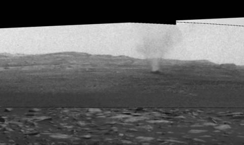 Οι ανεμοστρόβιλοι στον Άρη όπως τους κατέγραψε το Curiosity! (vid)