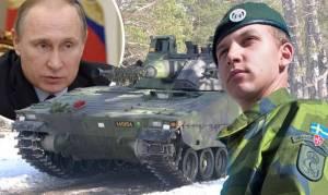 Πόλεμο με τη Ρωσία φοβάται η Σουηδία κι επαναφέρει τη στρατιωτική θητεία