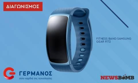 Διαγωνισμός: Κέρδισε ένα στιλάτο Fitness Band Samsung Gear Fit2 (L), αξίας 199,90 ευρώ!