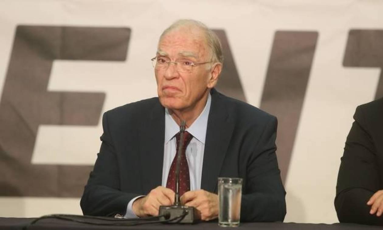 Λεβέντης: Η χώρα δεν χρειάζεται εκλογές, αλλά οικουμενική κυβέρνηση