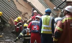 Σκηνές χάους στο Γιοχάνεσμπουργκ: Κατέρρευσε στέγη νοσοκομείου - Δεκάδες εγκλωβισμένοι