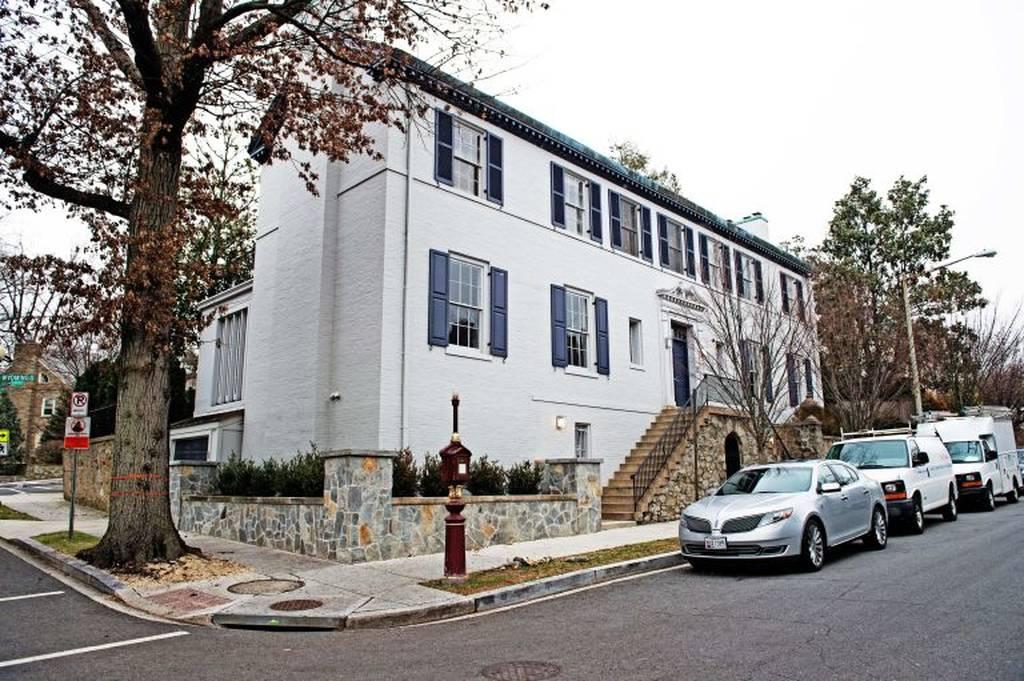 Η γειτονιά των πλουσίων και ισχυρών της Ουάσινγκτον έχει ελληνικό όνομα! (photos)