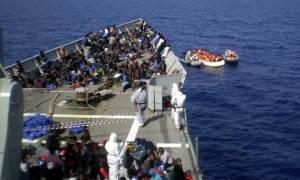 Ιταλία: Περίπου 1000 μετανάστες διέσωσαν οι αρχές στα ανοιχτά της Λιβύης
