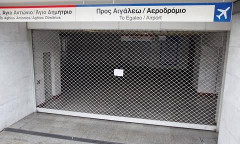 Προσοχή! Κλειστοί πέντε σταθμοί του Μετρό το Σαββατοκύριακο (04-05/03)