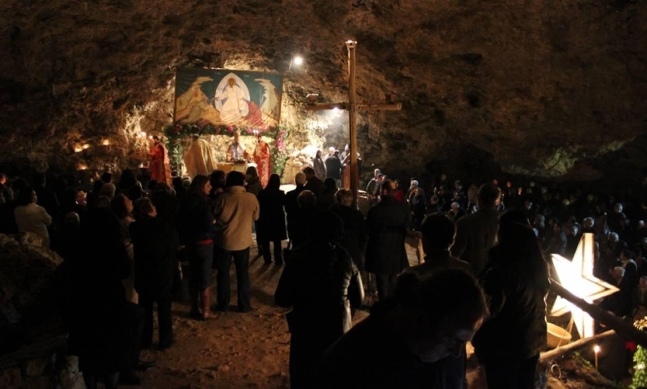 Το σπήλαιο του Αγίου Ιωάννου του Ερημίτου στον Κίσαμο