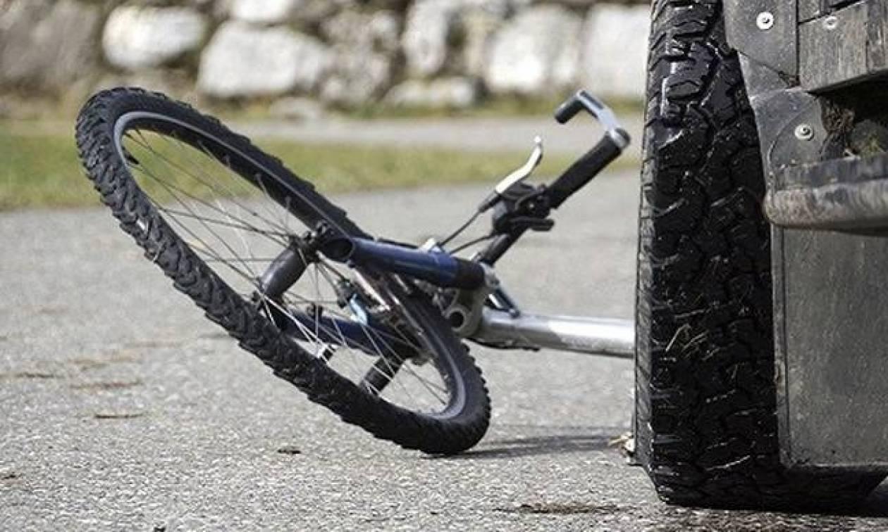 Τροχαίο με εγκατάλειψη στην Χαλκίδα: Χτύπησε ποδηλάτη και τράπηκε σε φυγή
