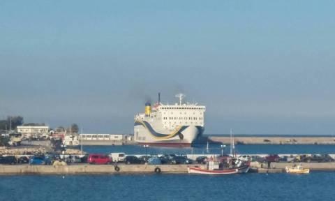 Φουλαριστό μπήκε το «Πρέβελης» στο λιμάνι της Σητείας (pics)