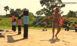 «Μαχητές» VS «Διασήμων»: Τη δύσκολη δοκιμασία με κλειστά μάτια κέρδισε η ομάδα των…
