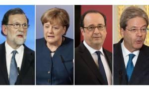 Συνάντηση κορυφής στη Γαλλία μεταξύ των Big-4 της Ευρώπης