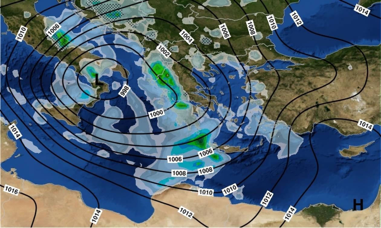 Μάρτης… γδάρτης! Καταιγίδες, χαλάζι και ισχυροί άνεμοι σε όλη τη χώρα