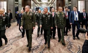 Μυστική συνάντηση των αρχηγών ενόπλων δυνάμεων της Τουρκίας, των ΗΠΑ και της Ρωσίας