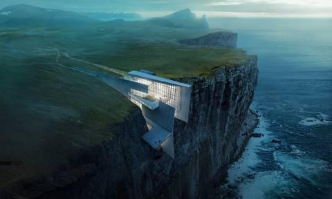 Η μετέωρη ζωή στην άκρη ενός γκρεμού - Συγκλονιστικές εικόνες από την Ισλανδία