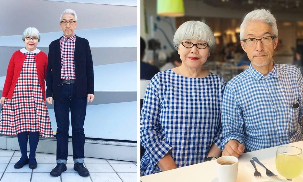 Viral: Αυτό το απίθανο ζευγάρι φοράει κάθε μέρα επί 37 χρόνια ασορτί ρούχα (Pics)
