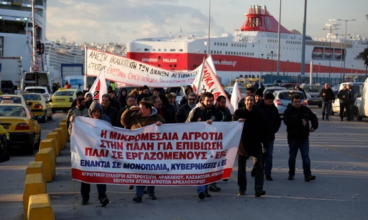 Η... απόβαση των κρητικών αγροτών στην Αθήνα - Αύριο (08/03) το συλλαλητήριο στην πλατεία Βάθη