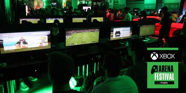 Xbox Arena Festival Gamers