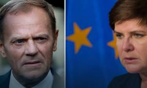 «Βέτο» της Βαρσοβίας στην επανεκλογή Τουσκ: Μπλοκάρει το κείμενο συμπερασμάτων της Συνόδου