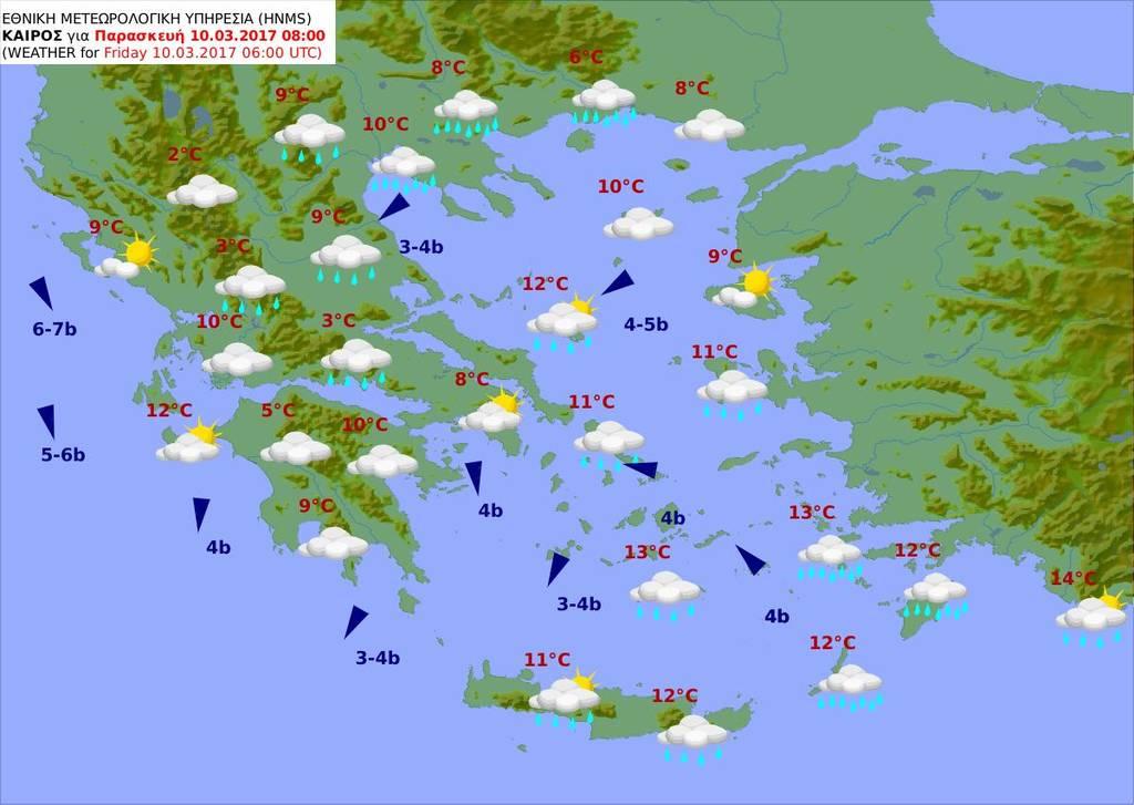 Καιρός σήμερα: Επιμένει η «Γαλάτεια» με καταιγίδες και χιόνια μέχρι την Κυριακή (pics)