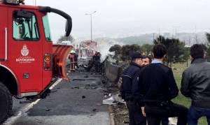 Βίντεο ΣΟΚ από τη συντριβή του ελικοπτέρου στην Τουρκία - Εφτά οι νεκροί!
