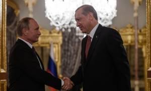 Ο Ερντογάν προσκαλεί τον Πούτιν στην Κωνσταντινούπολη