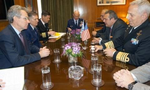 Ενίσχυση της στρατιωτικής συνεργασίας Ελλάδας - ΗΠΑ