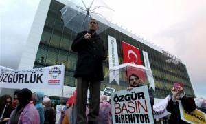Τουρκία: Μεγάλη διαδήλωση δημοσιογράφων κατά της κυβέρνησης Ερντογάν
