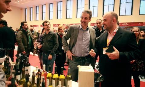 Μητσοτάκης: Θα καταργήσω τον Ειδικό Φόρο Κατανάλωσης στο κρασί